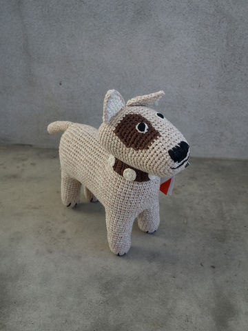 Crochet,Terrier,Anne-Claire Petit, ACP, Anne, Claire, Petit, dog, terrier, terrior, toy, doll, soft, fine, baby, kids, childrens, babies, children, crochet, crocheted