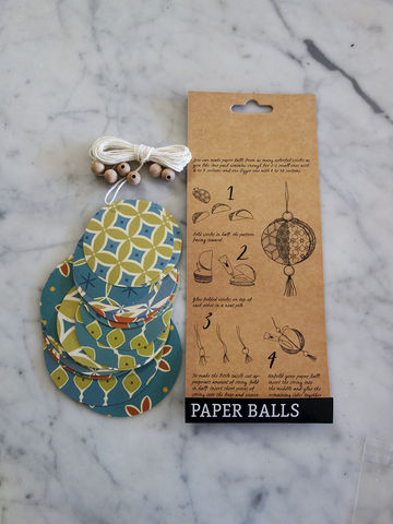DIY Paper Ball set - product images  of