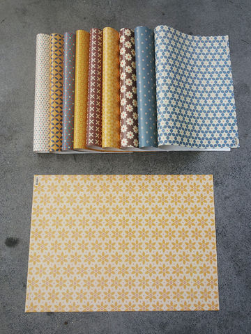 10 sheets Jackie Wrapping Paper - product images  of