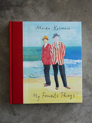 My,Favorite,Things,Maira, Kalman, illustrator, illustration, illustrated, book, favourite, favorite, things, exhibition, catalogue, Cooper, Hewitt, Smithsonian, design, museum, Cooper-Hewitt, The Elements of Style, hardback, hardcover, collection, objects, Maira Kalman, Sel