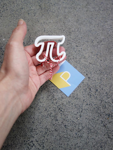 Mini Pi Cookie Cutter - product images  of