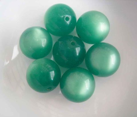 10mm,moonglow,lucite,beads,choose,orange,or,green,8,lucite beads, vintage lucite beads,vintage moonglow, moonglow beads,green beads, orange beads