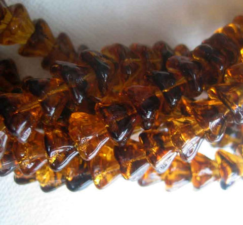 Tortoiseshell,Czech,Glass,,Bellflower,beads,,6mm,x,8mm,12,pieces,Supplies,Bead,bell_flower_beads,bellflower_beads,small_flower_beads,Czech_glass_flowers,glass_flower_beads,bell_flower,6mm_bell_flowers,tortoiseshell_beads,tortoise_shell_beads,brown_bell_flowers,glass_flower_bead,Ontario_Beads,Canada,glass