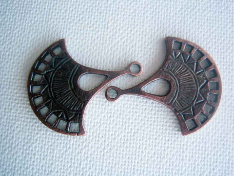 2,Greek,Casting,Mykonos,Fan,Pendant,pieces,large,charm,bronze,patina,copper,Supplies,Mykonos_Fan,Greek_casting,mykonos_casting,Greek_metal_charm,metal_pendant,Fan_shaped_pendant,Barrie_Beads,Canada,bronze_patina,copper_and_bronze,fan_pendant,bronze_copper_charm,Greek_casting_fan,lead free metal