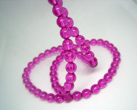 Czech,Glass,Beads,8mm,orchid,purple,strand,or,loose,Czech glass bead strand, 8mm Czech glass beads, orchid purple, translucent beads, coated glass beads