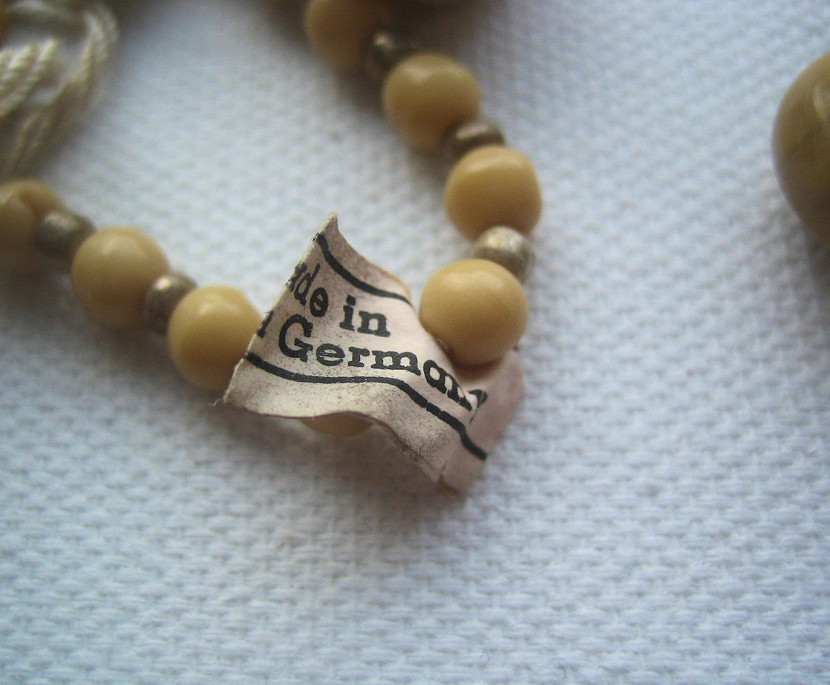 Neutral Mix Vintage Glass Beads  - product images  of