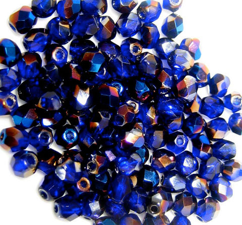 Vintage,4mm,Small,Czech,glass,beads,Clearance,-,all,czech glass beads,fire polished beads,golden glass,azuro,cobalt,purplegold clear,bronze glasssmall beads,vintage beads