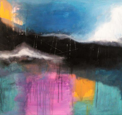 Abundant,abstract painting, artwork, original, evocative, expressive, impetuous, spontaneous, for sale