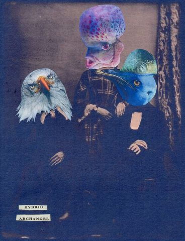 Hybrid,collage, handcut. analogue, art, original, unique, surreal, surrealist