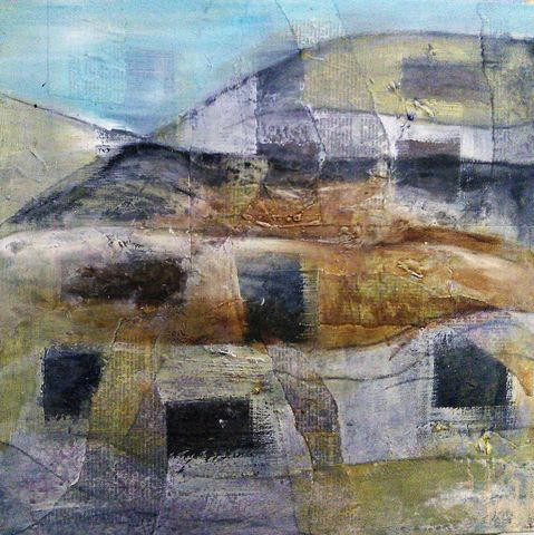 Mountain,Top, painting, art, original, signed, impetuous, expressive, emotive, for sale, interiors, interiordesign, decor, statement, mixed media, charcoal, vintage paper, artbuyers, buy art, dealers, art collectors, contemporary, neutral, unique