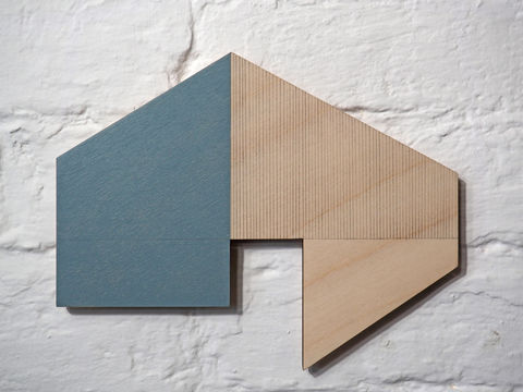 utopian,6,-,blue,plywood,lasercut,house,building,architecture,wall sculpture, painting