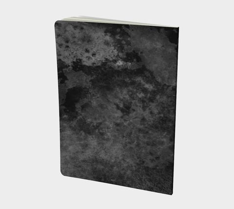 Smoky,Clouds,Notebook,black notebook, distressed, blank notebook, lined notebook