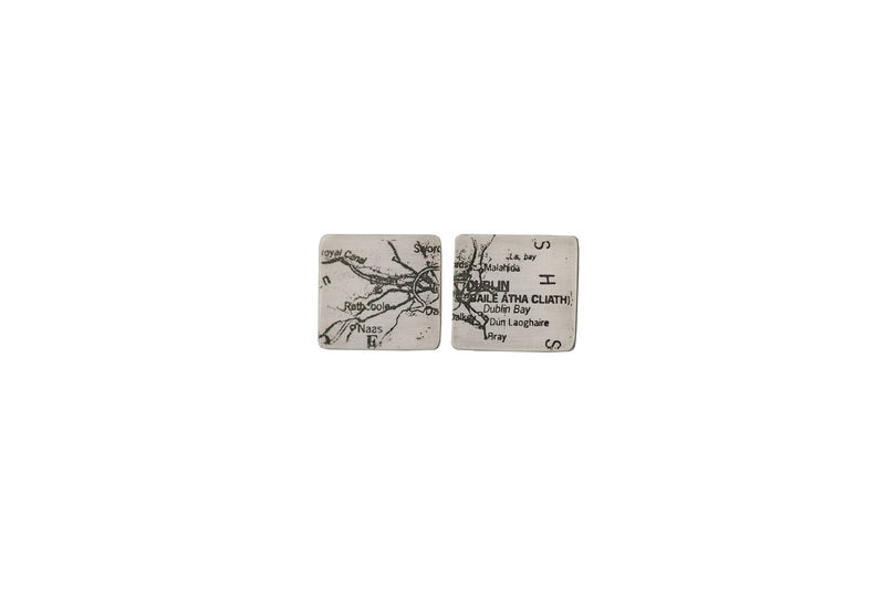 cufflinks-Dublin map Cufflinks - product images  of