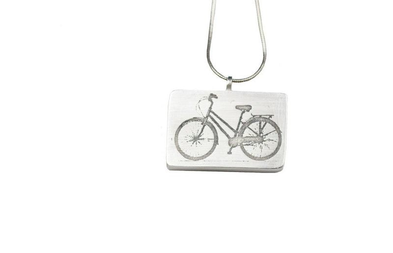 Pendant- Bicycle pendant - product images