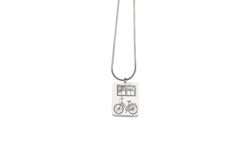 Pendant- Bike & Window pendant - product images  of