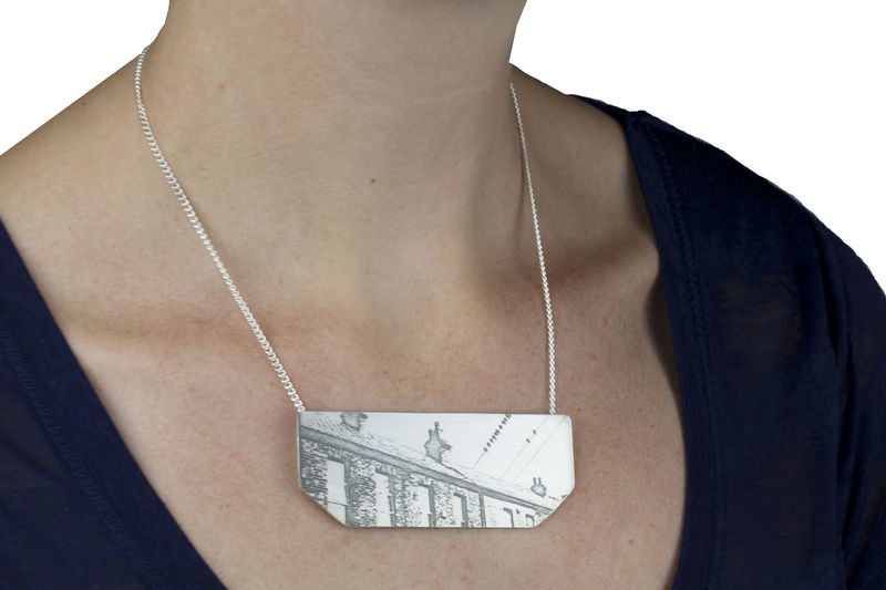 necklace-cityscape 1 -city roofs - product images  of