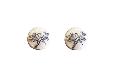 Tree stud earrings - product images  of