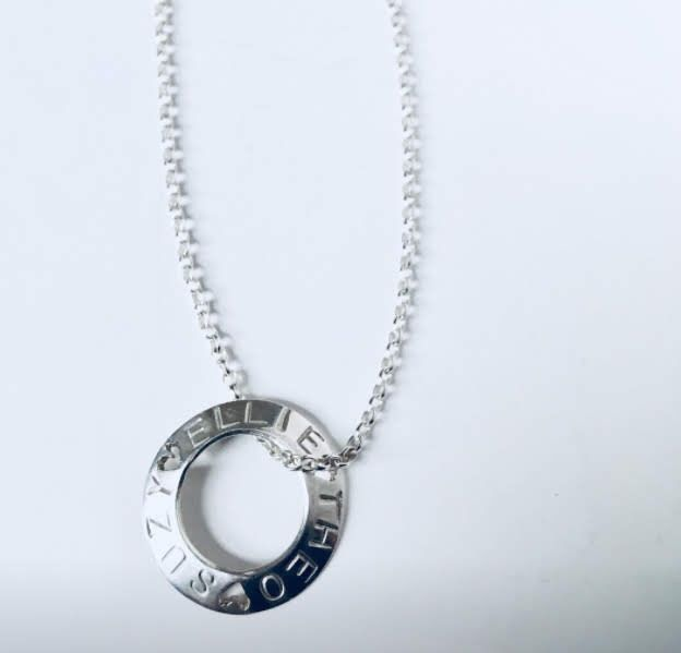Personalised necklace  - product images  of