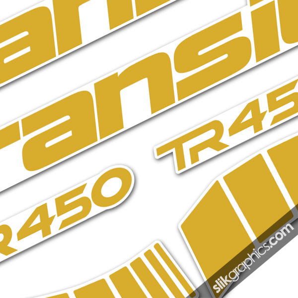 Transition TR450 Style Decal Kit - product images  of