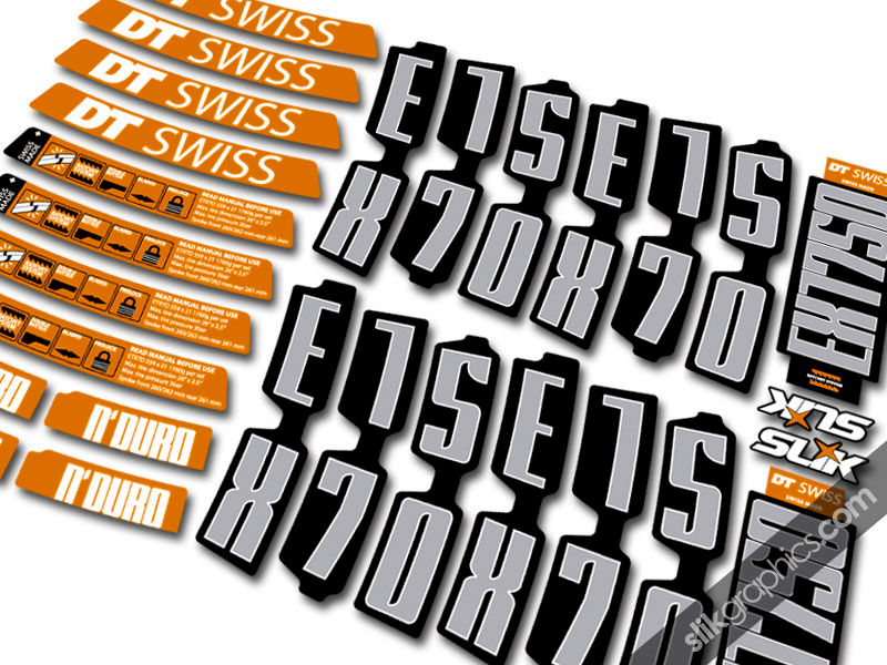 DT Swiss EX1750 26 New Style Decal Kit - product images  of