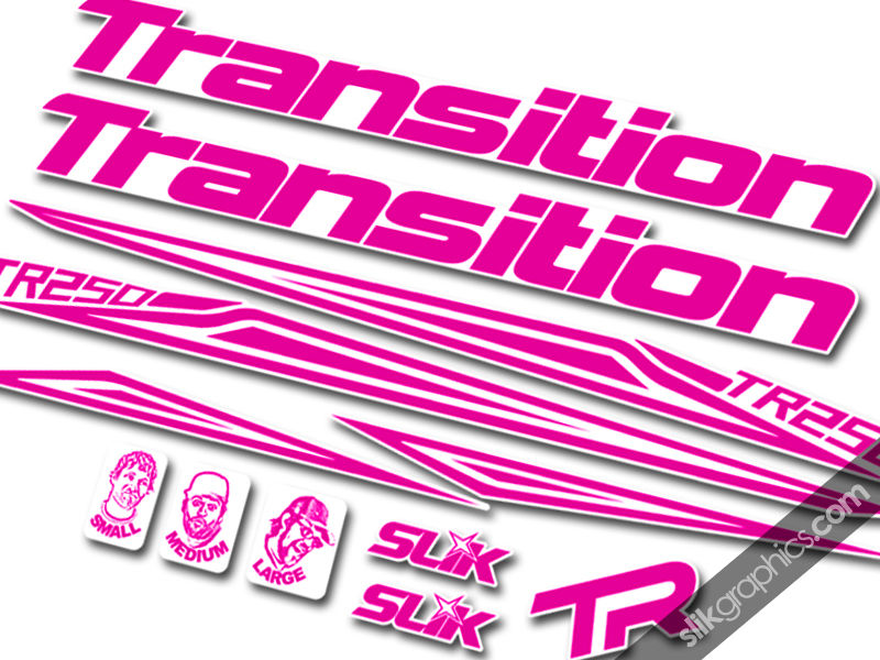 Transition TR250 Style Decal Kit - product images  of
