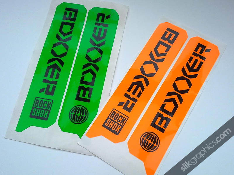 Neon RockShox Boxxer 06-09 Style Decals - product images  of