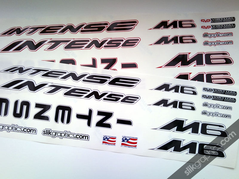 Intense M6 Style Decal Kit - product images  of