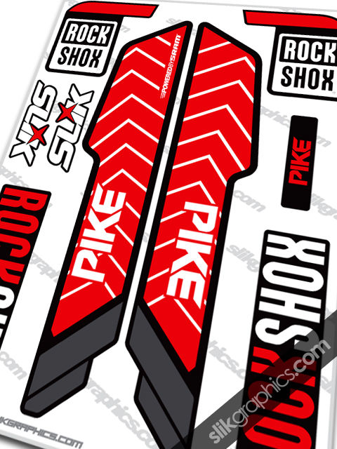 RockShox PIKE 2013 Style Decals - YT Industries edition - product images  of