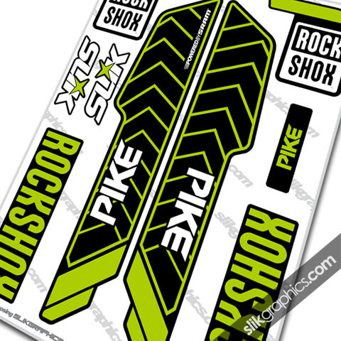 RockShox,PIKE,2013,Style,Decals,-,YT,Industries,edition,Rockshox, PIKE, 2013, 2014, forks, decals, stickers, YT industries, YT, Capra comp, Capra