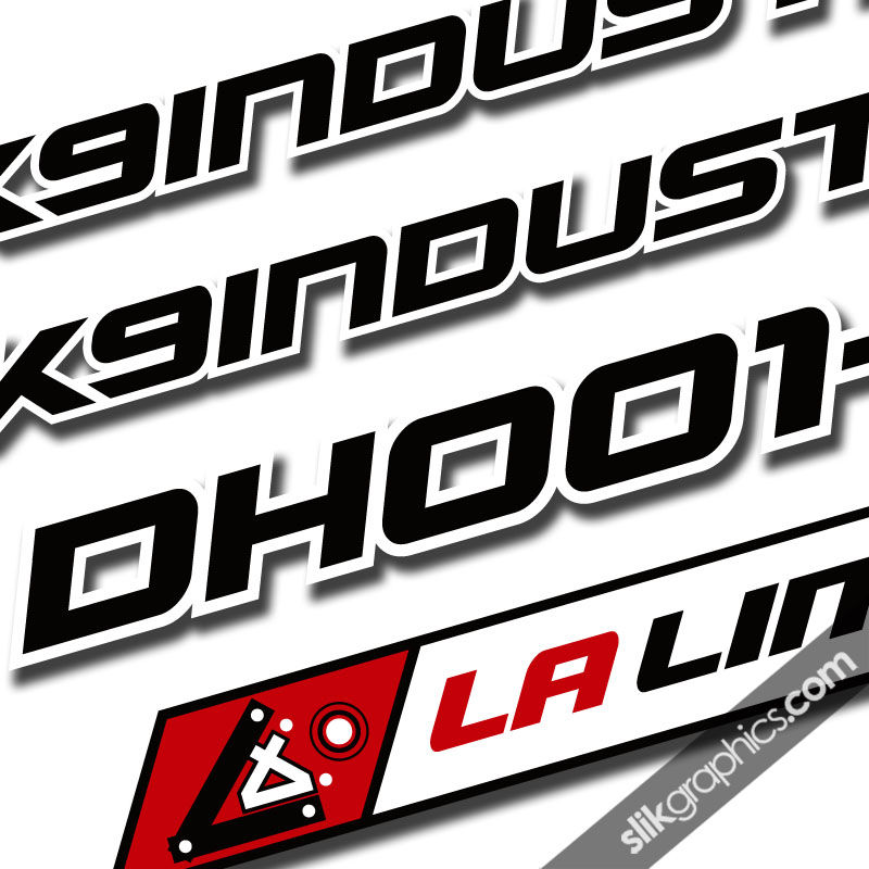 K9 DH001-S Decal Kit - product images  of