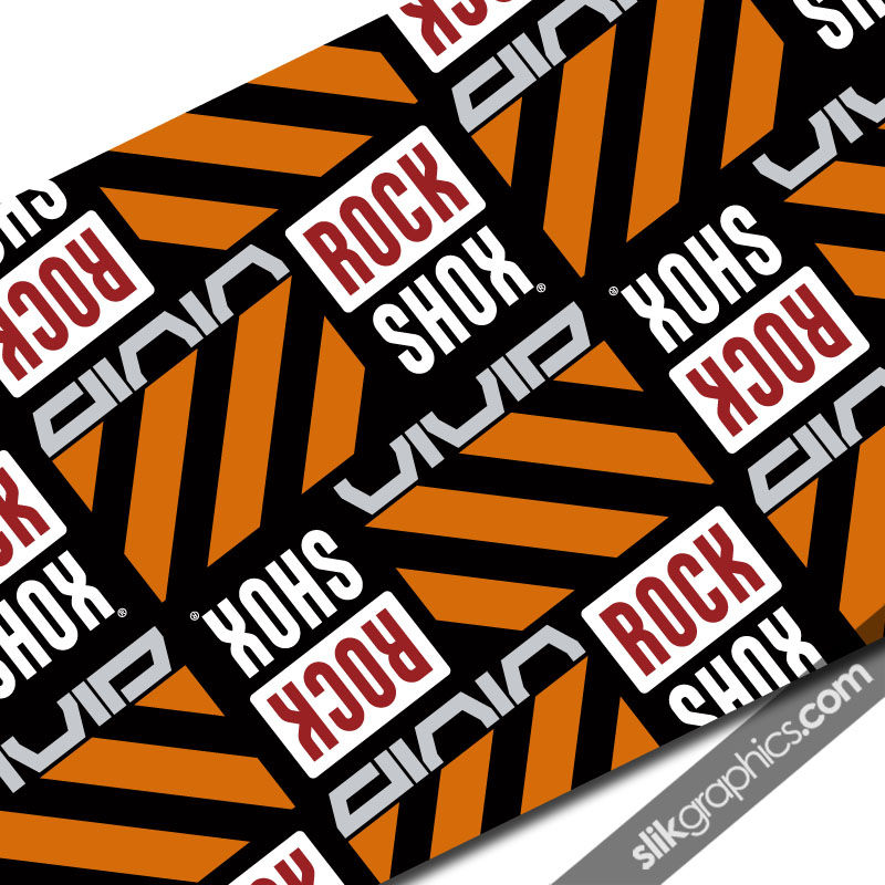 Rockshox Vivid Style Reservoir Decal - product images  of