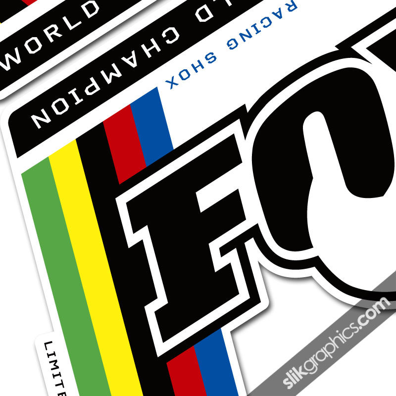 Fox World Champion Style Decal Kit - product images  of