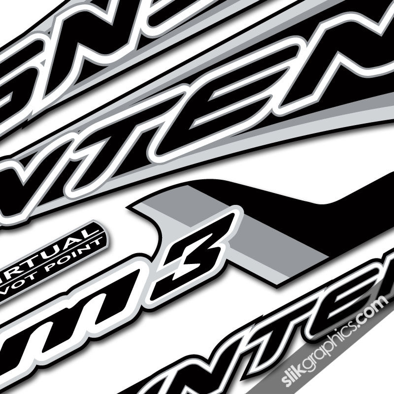 Intense M3 Style Decal Kit - product images  of