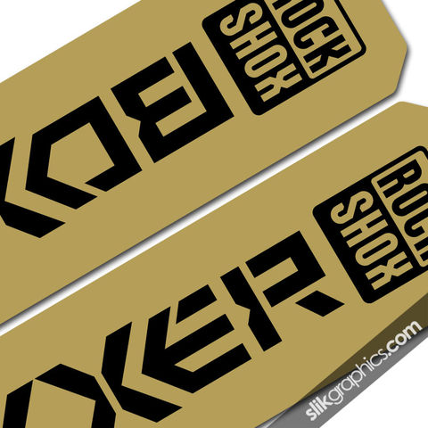 Metallic,RockShox,Boxxer,06-09,Style,Decals,rockshox, Boxxer, fork decals, stickers
