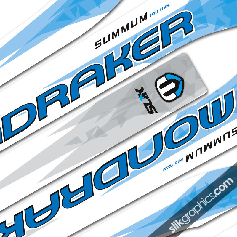 SSP Mondraker Summum Decal Kit 'Shattered' - product images  of