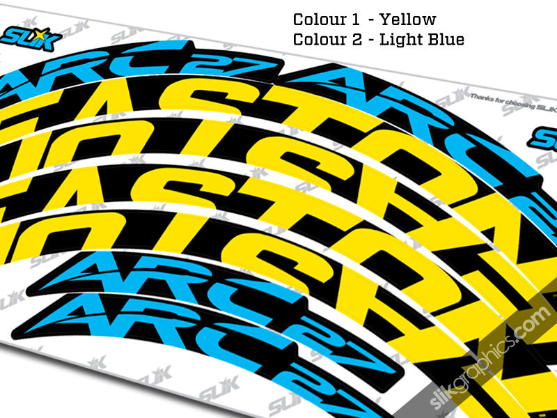 Easton ARC 27 Style Rim Decals - product images  of