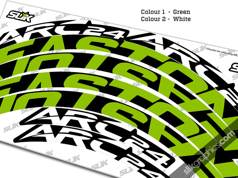 Easton ARC 24 Style Rim Decals - product images  of