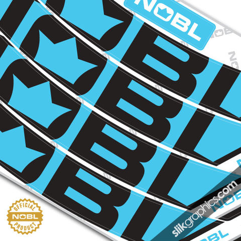 NOBL,custom,rim,decals,-,SINGLE,colour, NOBL Wheels, NOBL Rims
