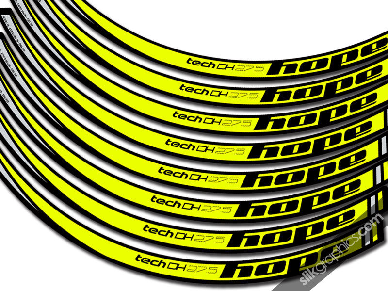 Hope Tech DH Decal Kit - product images  of