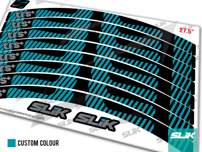 E Thirteen TRS+ 2017 Rim Decal Kit - product images  of