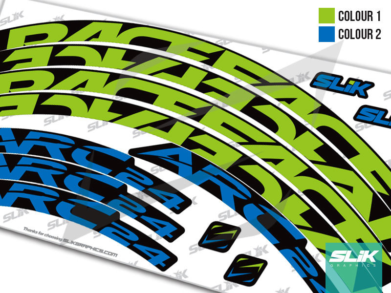 RaceFace ARC 24 Style Rim Decals - product images  of