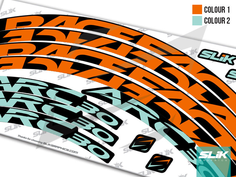 RaceFace ARC 30 Style Rim Decals - product images  of
