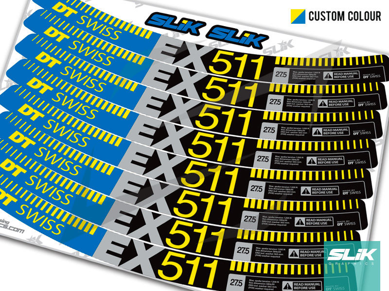 DT Swiss EX 511 Style Decal Kit - product images  of