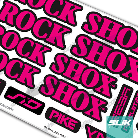RockShox,Retro,Fork,Decal,Kit,Rockshox, Retro, old school, vintage, forks, decals, stickers