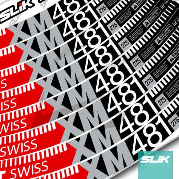DT Swiss XM 481 Style Decal Kit - product images  of