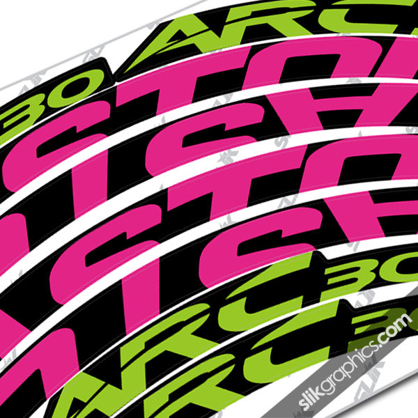Easton ARC 30 Style Rim Decals - product images  of