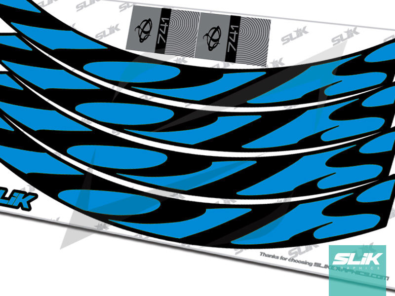 Ibis 741 Rim Decal Kit - product images  of