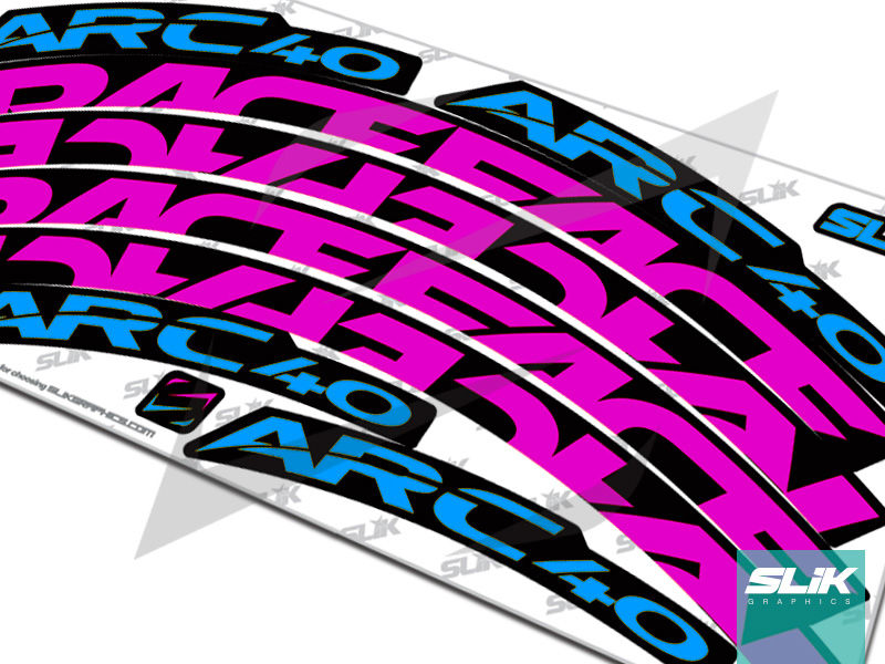 RaceFace ARC 40 Style Rim Decals - product images  of