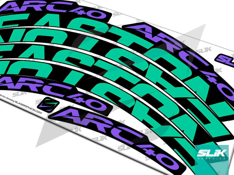 Easton ARC 40 Style Rim Decals - product images  of