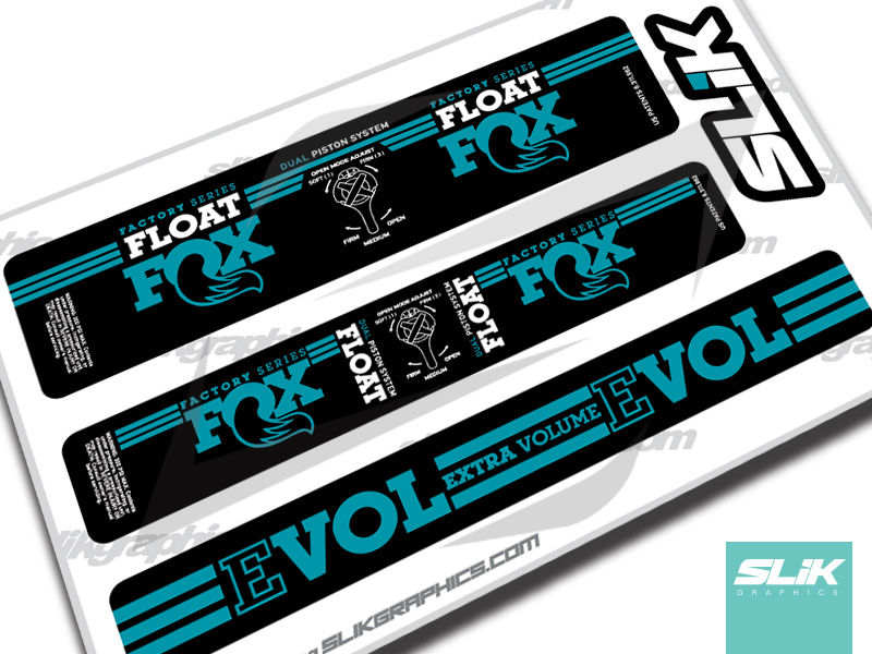 Fox Float DPS 2016 Style Shock Decals - product images  of